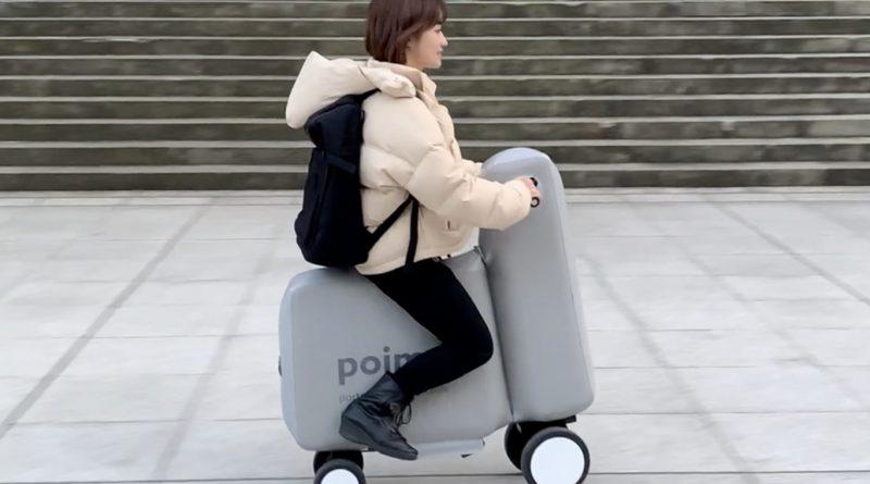 Poimo, nueva moto eléctrica de tamaño bolsillo