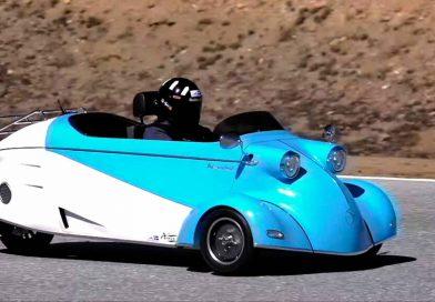 Vuelve la moda de los autos de tres ruedas
