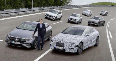 En 2030 todo el portafolio de Mercedes-Benz será eléctrico