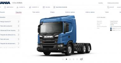 Diseñe su camión con Scania Configurator