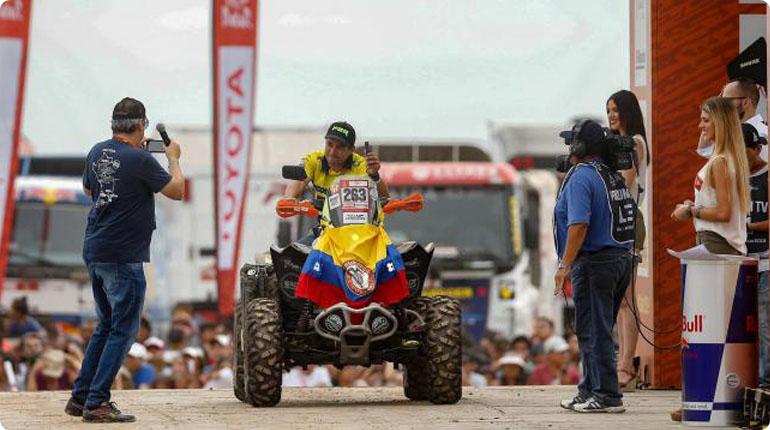 Colombianos están listos para el Dakar 2021