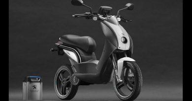Peugeot lanza en España su scooter eléctrico